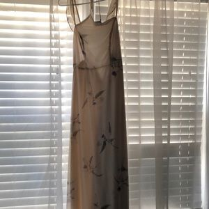 Lulus floral dress size small worn once